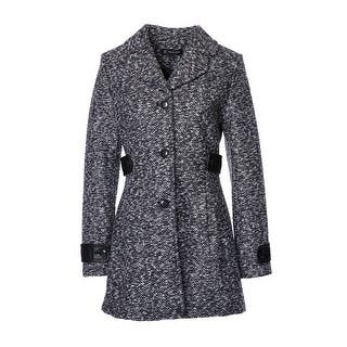 Womens Faux Leather Trim A-line Tweed Coat|https://ak1.ostkcdn.com/images/products/is/images/direct/7b3a4cacc49099414a65ffa33f360420fd27ee9f/Inc.-Womens-Faux-Leather-Trim-A-line-Tweed-Coat.jpg?impolicy=medium