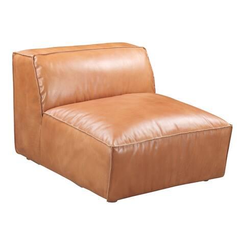 Aurelle Home Lita Modern Modular Sectional Piece - Slipper Chair