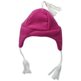 Flap Happy Fleece Infant Girls Trapper Hat
