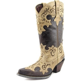 Durango DCRD138 Women Pointed Toe Leather Brown Western Boot