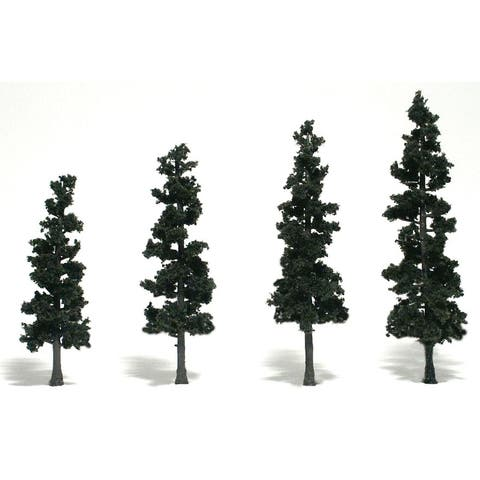 Woodland scenics wstr1581 4 -6 ready made tree value pack conifer