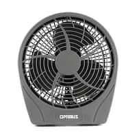 """9"""" Stylish Personal Fan 3 Speed- Gray"""