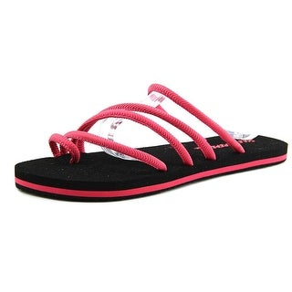 Sole Threads Olivia Open Toe Synthetic Flip Flop Sandal