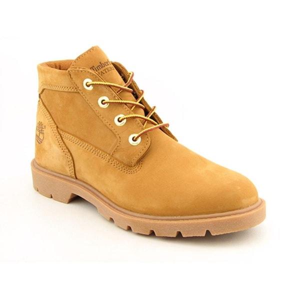 Timberland Basic Chukka Men Round Toe Leather Tan Boot