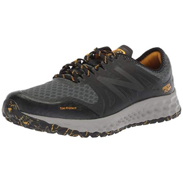 7a12b424852 Shop New Balance Men's Kaymin V1 Fresh Foam Trail Running Shoe, Faded  Rosin/Black/Brass - Free Shipping Today - Overstock - 27122445