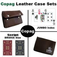 Script Bridge Jumbo Leather Case