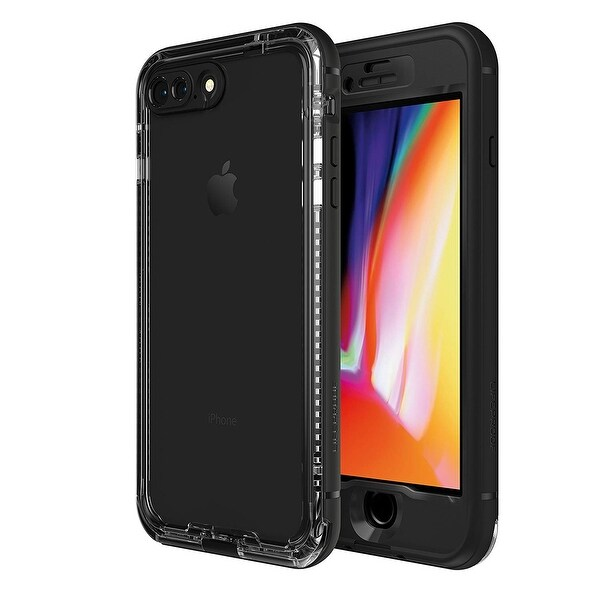 LifeProof NÜÜD Series Waterproof Case With Drop Protection, Lightweight for iPhone 8 Plus (ONLY) - Black