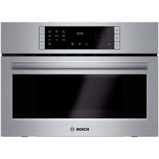 Bosch HMC87151UC 27 Inch Speed Microwave Oven with Convection Cooking from the 800 Series - Stainless Steel
