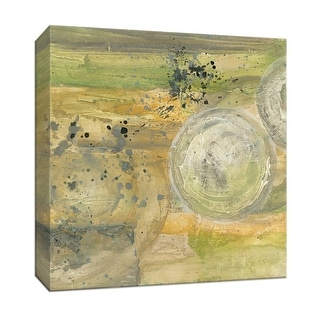 """PTM Images 9-152960  PTM Canvas Collection 12"""" x 12"""" - """"Golden Universe II"""" Giclee Abstract Art Print on Canvas"""