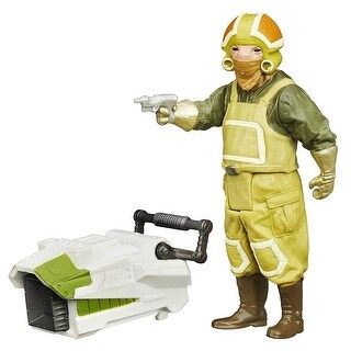 Star Wars The Force Awakens 3.75-Inch Figure Forest Mission Goss Toowers - Multi-Colored