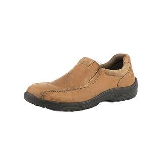 Roper Western Shoes Mens Leather Slip On Tan 09-020-0604-0214 TA