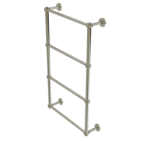 Allied Brass Waverly Place Collection 4 Tier Ladder Towel Bar with Groovy Detail