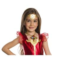 Justice League Light-Up Wonder Woman Child Costume Necklace - Multi