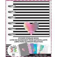 Create 365 Sticker Storage Book-Rainbow