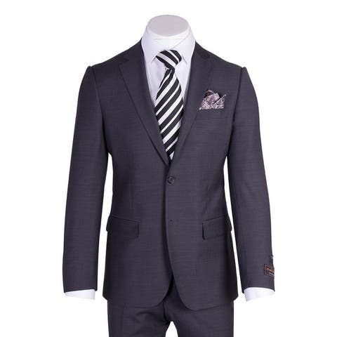 Novello Suit - Charcoal Gray, Modern Fit