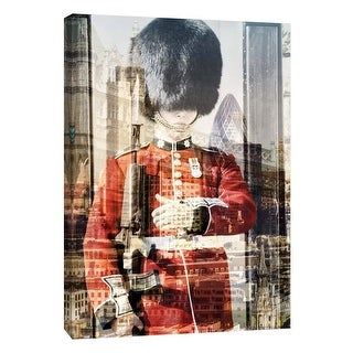 """PTM Images 9-109025  PTM Canvas Collection 10"""" x 8"""" - """"London"""" Giclee Men Art Print on Canvas"""