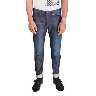 Diesel Buster Men's Regular Slim-Tapered Denim Jeans 0842N