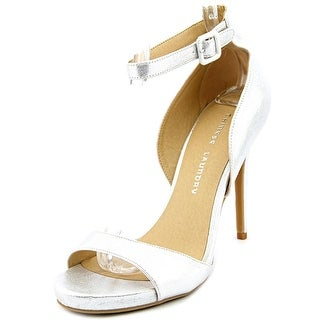 Chinese Laundry Be Bold Women Open-Toe Synthetic Silver Heels
