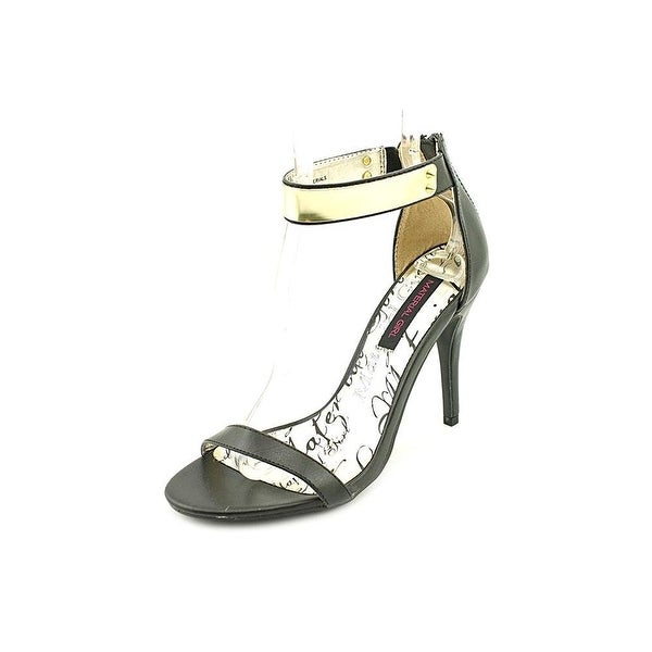 Material Girl Womens Vamm Open Toe Ankle Strap D-orsay Pumps