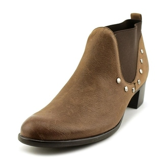 Munro American Austin  SS Round Toe Leather  Ankle Boot