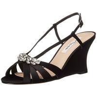 Nina Womens Viani Peep Toe Bridal Platform Sandals