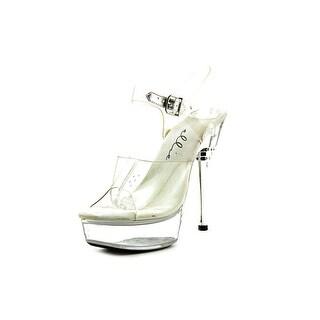 Ellie Brook Open Toe Synthetic Platform Heel
