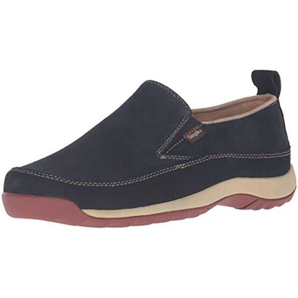 Simple Womens Spice Fashion Sneakers Suede Slip On