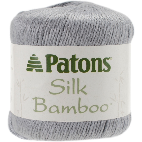Silk Bamboo Yarn-Ivory - White