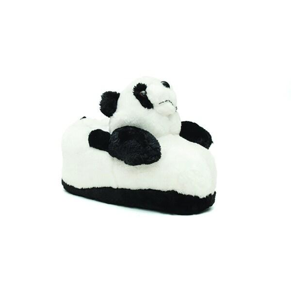 Happy Feet Mens and Womens Panda Animal Slippers
