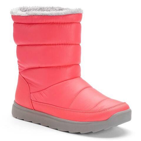 Tek Gear Womens Tall Puff Light Weight Winter Boots