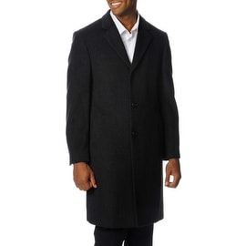 Nautica Men's 3 Button Top Coat