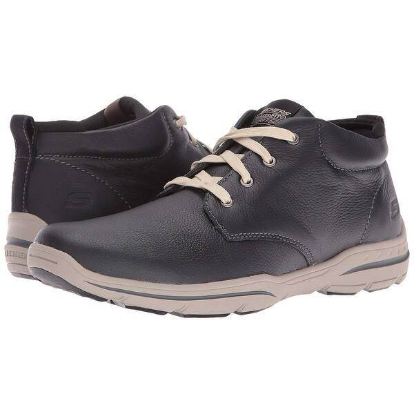 search for authentic shop for newest classic chic Shop Skechers Usa Men's Harper Meldon Chukka Boot,Black,10 M ...