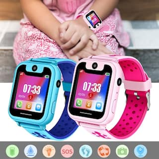 Youth/Kids Smart Watch Game Watches Touch Screen Camera Watch LBS Position Remote for Boys Girls Children Gifts