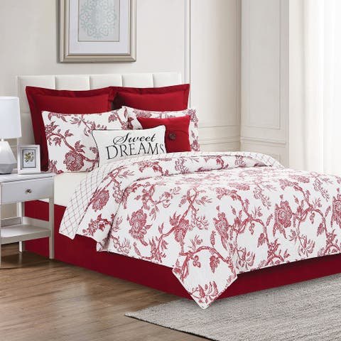 Collin Red King Quilt