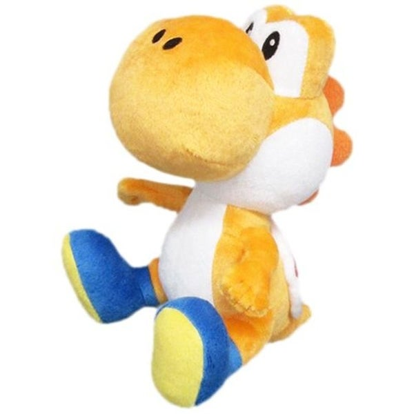 Nintendo 6-inch Super Mario Orange Yoshi Plush Toy