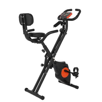 Folding Upright Bike, X Bike Exericse Equipment, Black - N/A