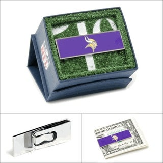 Minnesota Vikings Money Clip - Purple