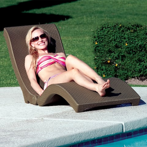 Premium Chaise Poolside and In-Pool Swimming Pool Tanning Lounge