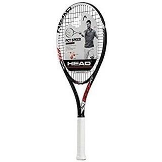 Head 55100 Pct Speed Titanium white tennis racquet - 4.5 in.