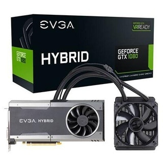 Evga Geforce Gtx 1080 Ftw Hybrid Gaming 8Gb Gddr5x Pcie 3.0 X16 Graphic Card