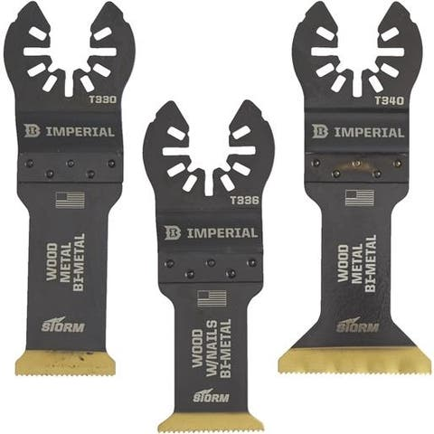Imperial Blades 3Pc Variety Blade IBOATV-3 Unit: EACH