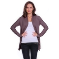 Simply Ravishing Women's Basic Long Sleeve Open Cardigan (Size: Small-5X) - Thumbnail 1