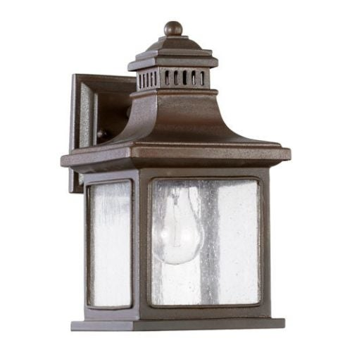 Quorum International 7043 Magnolia 1 Light Outdoor Wall Sconce - Oiled Bronze