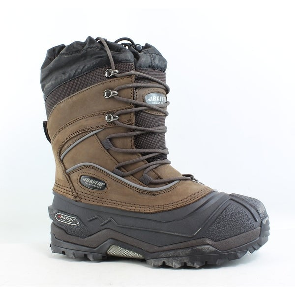 bc7f8420a4a3 Shop Baffin Mens Snow Monster-M Worn Brown Snow Boots Size 7 - Free ...