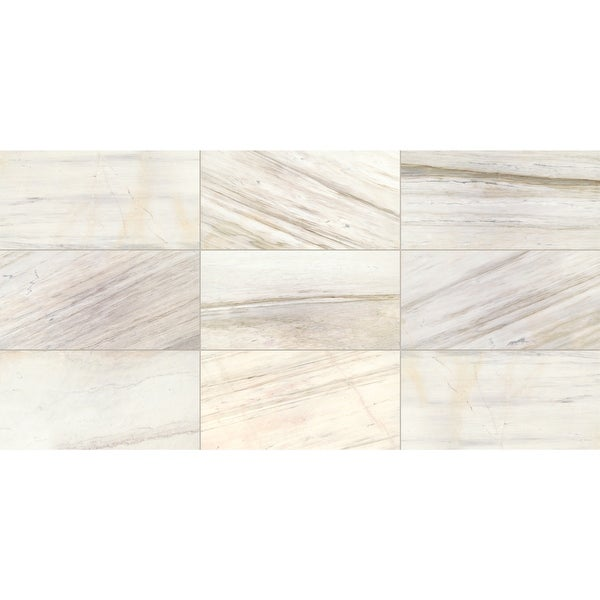 """Daltile M01212241L Fonte - 24"""" x 12"""" Rectangle Floor and Wall Tile - Polished Visual - Sold by Carton (10 SF/Carton)"""