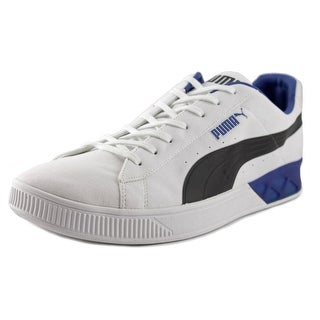 Puma Future Basket Lo Men Round Toe Leather Multi Color Sneakers