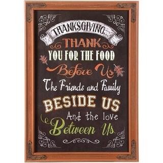 "Thanksgiving Chalkboard Sign 18""X26""-"