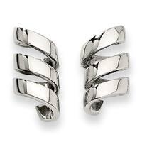 Chisel Stainless Steel Earrings