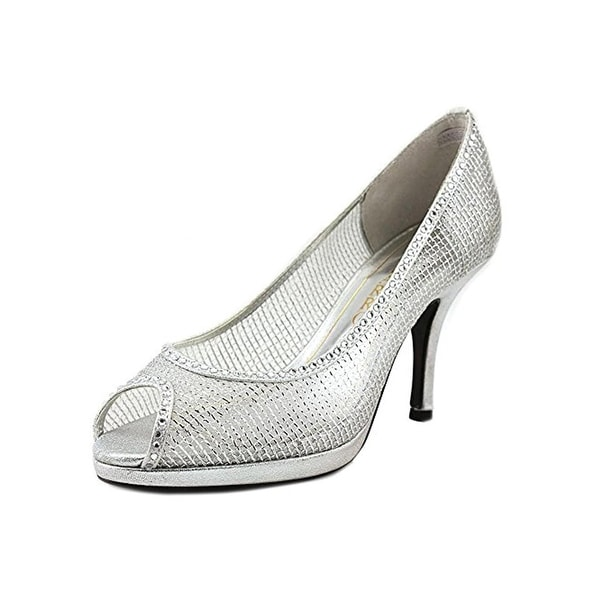 Caparros Womens Future Dress Heels Metallic Embellished