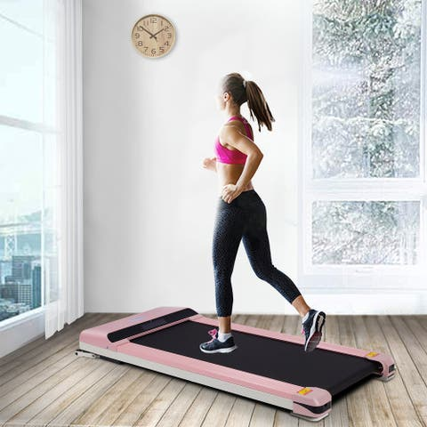 Electric Portable Treadmill with LDE Display & Sport APP